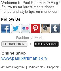 Welcome to Paul Parkman ® Blog ! Follow us for latest men's shoes trends and style tips on menswear.